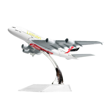 The United Arab Emirates Airbus 380 16cm Metal Airplane Models Child Birthday Gift Plane Models Home Decoration - Intl