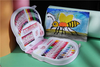 Three root 500g children painted combination sets of brush suit