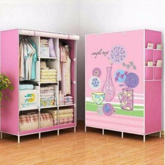 Tickle Children's Folding Wardrobe Organizer (Pink)