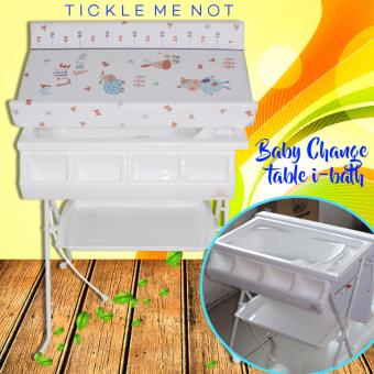 Tickle Lovely Kids LL6601 Little Farm Design 2-in-1 Baby bath tub and changing station