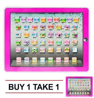 Tickle New Magic Ypad Multimedia Learning Computer Toy Tool (Pink)Buy 1 Take 1
