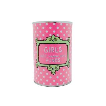 Tickles Girls Just Wanna Have Funds Coin Bank (Pink) Price Philippines