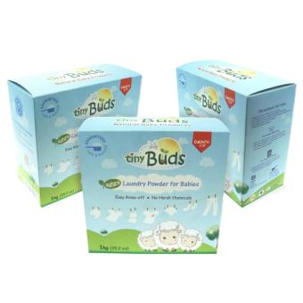 Tiny Buds Natural Powder Detergent 1kg Set of 3
