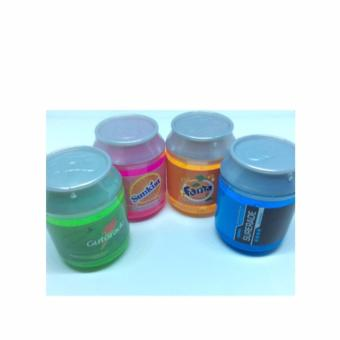 Tiny Glittery Soda Slime set of 4 Price Philippines