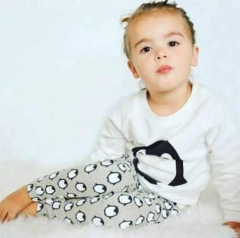 Toddler Kids Baby Boys Girls Clothes T-shirt Sweatshirt+Pants 2PCSOutfits Set 0-24M(6-12 Months) - intl - 3