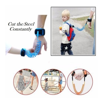 Toddler Kids Baby Safety Harness Hand Belt Anti Lost Walking Strap Wrist Leash - intl