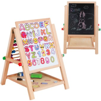 Toddlers' Double Sided Easel Drawing Board