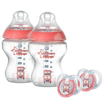Tommee Tippee CTN Best British gift pack 9oz (red) Price Philippines