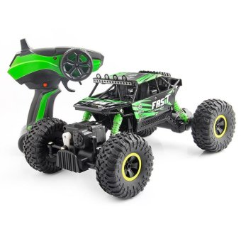 TOMSOO 1PC Remote Control Off Road Racer Rc Truck Car 4WD Off Road Vehicle Child Toy??green ) - intl