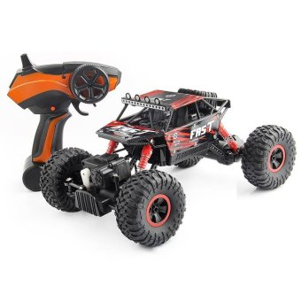 TOMSOO 1PC Remote Control Off Road Racer Rc Truck Car 4WD Off Road Vehicle Child Toy??red ) - intl