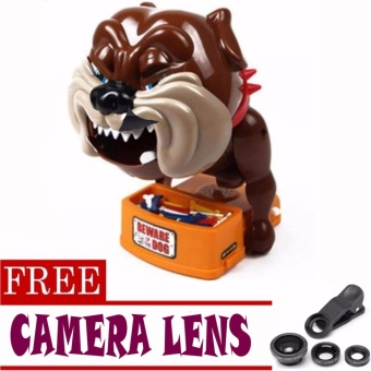 Toy Collections Beware Of Bad Dog Toys (bulldog)with FREE Camera Lens (color may vary)