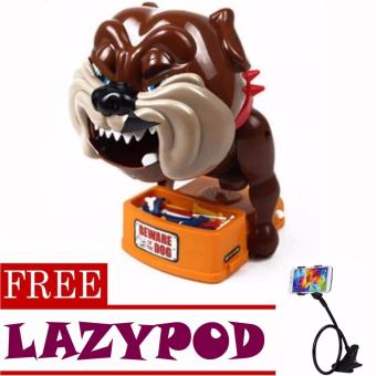 Toy Collections Beware Of Bad Dog Toys (bulldog)with FREE Lazypod (color may vary)
