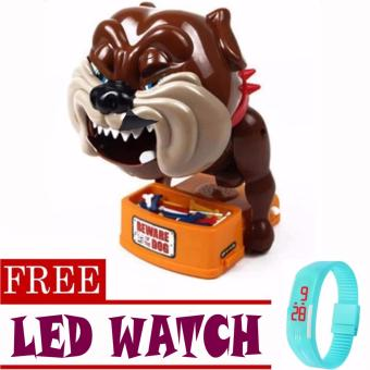 Toy Collections Beware Of Bad Dog Toys (bulldog)with FREE LED Watch (color may vary) Price Philippines
