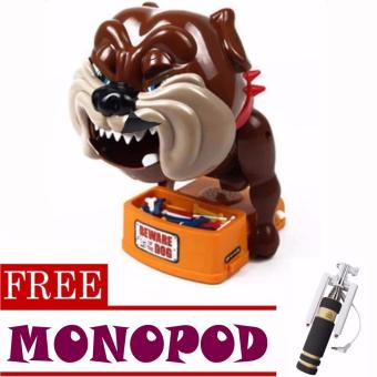 Toy Collections Beware Of Bad Dog Toys (bulldog)with FREE Monopod (color may vary)