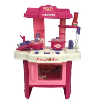 Toy Collections Kitchen Play Set (Pink)