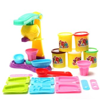 Toy Collections Plasticine Magical Ice Cream Double Twister Maker
