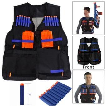 TOY Tactical Vest w/Storage Pocket Pockets for Nerf N-Strike Elite Gifts For Kids - intl - 2