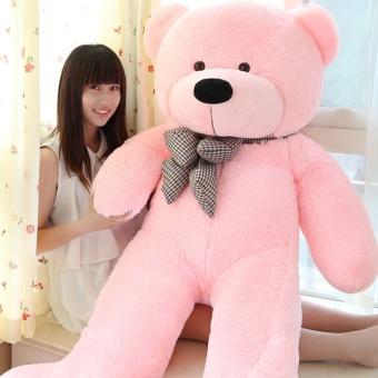 Toys Games Teddy Bears  Pink Stuffed Animal Teddy Bear PlushSoft Toy 80Cm Huge Soft Toy - intl Price Philippines