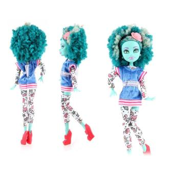 Toys Gifts Monster High School Strange High Doll Solid Doll Clothing Accessories - intl Price Philippines