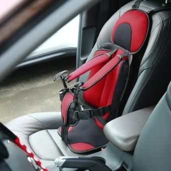 Trendy New Soft Safety Kids Car Seat For Child Baby Portable Carrier Seat Red (Intl) - intl Price Philippines