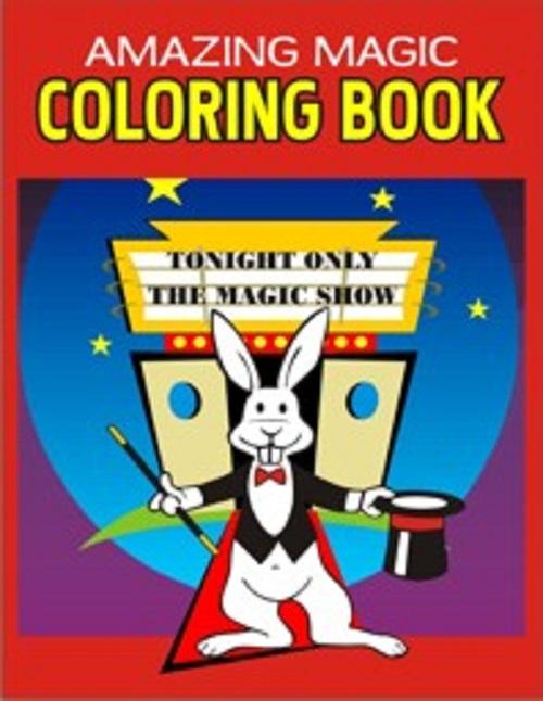 trickmaster magic coloring book lazada ph - Magic Coloring Book