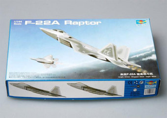 TRUMPETER f-22a assembled airplane model
