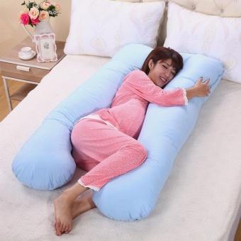 U shaped Body Support Mummy Pregnancy and Nursing Pillow - intl - 2