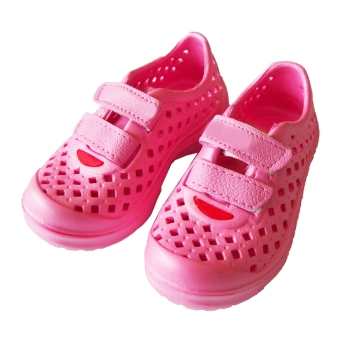 Ultra-light soft girls porous shoes