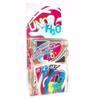 UNO Card Game Plastic Water proof H2O, Uno Cards for Family Games