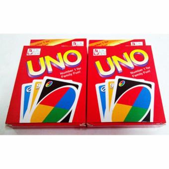 Uno card game set of 2