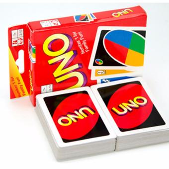 UNO Standard 108 English Fun Cards Game for Family, Number One Cardfor Family Fun