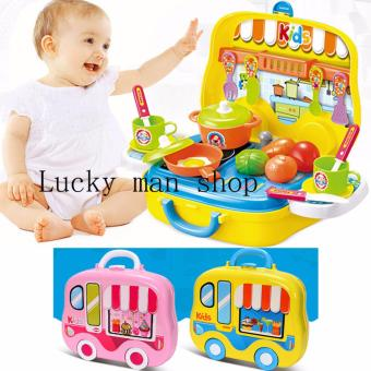 USA TOP ONE lazada and USA best selling Dream The Suitcase KitchenCooking Play 26pcs. Toy Set