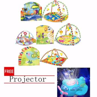 USA TOP ONE lazada and USA best selling Precious Planet DeluxeMusical Activity Gym with free Projector