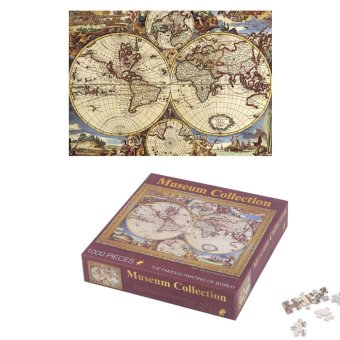 USTORE 1000 Pcs/set DIY Jigsaw Puzzle Famous Painting of World ArtOil Painting - intl Price Philippines