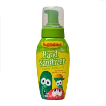 Veggietales Hand Foaming Hand Sanitizer 7oz. / 207ml (Green/Yellow) Price Philippines