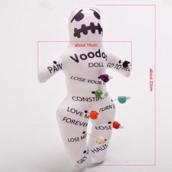 Voodoo Doll Revenge Spell with 7 Skull Pins - intl - 2