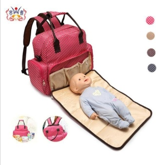 Waterproof Bag Baby Nappy Backpack Large Baby Diaper OrganizerMaternity Mother Bag Mummy Handbag Nappy Bags Diaper Backpack -intl Price Philippines