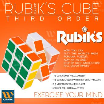 Wawawei Rubik's Cube 3x3x3 Third Order Puzzle Solving Puzzle#YH8140