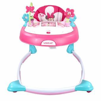 Weeler Bows and Butterflies Baby Musical Walker (Pink) - 2