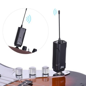 Wireless Audio Transmitter Receiver System for Electric Guitar -intl