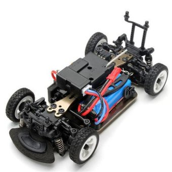 Wltoys K989 1/28 2.4G 4WD Brushed RC High Speed Rally Racing OffRoad Drift Car (Intl) - 2