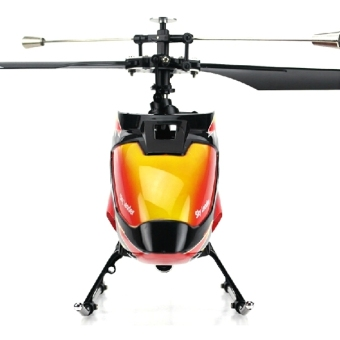 WLtoys V913 Large Alloy Frame 2.4GHz 4CH Single Blade Remote Control RC Helicopter Airplane with Built-in Gyro (Black+Red) - picture 2