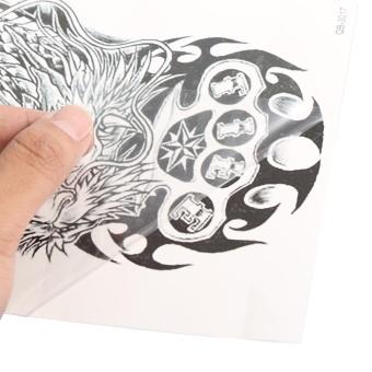 Women Men Temporary Fake Art Tattoo Sticker QB-3017 - intl - 5