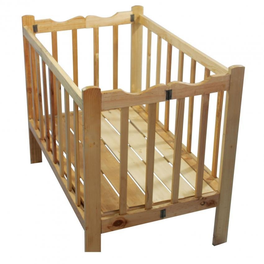 Wooden Baby Crib Lazada PH - Baby Wooden Crib