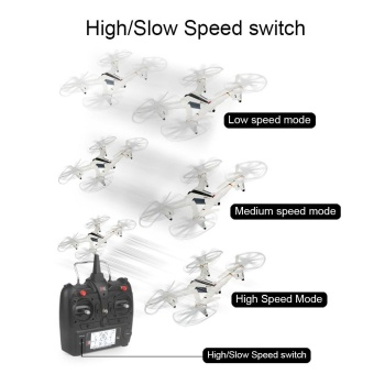 XK X300-W Brushed RC Drone RTF WiFi FPV 720P HD 2.4GHz 8CH 6-axisGyro Optical - intl