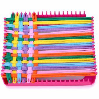 XTV Craft Loop ' N Weave Loom Yarn Set Creativity for Girls FunToys - 4