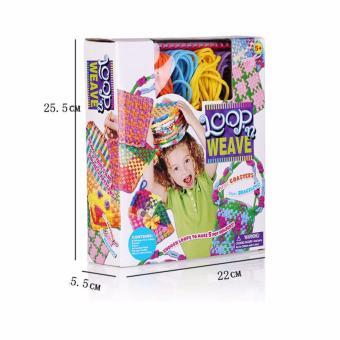 XTV Craft Loop ' N Weave Loom Yarn Set Creativity for Girls FunToys - 2
