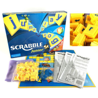 XTV Junior Scrabble 2 Levels of Play Two Fun Word Game In One FunnyKids Toy Best Intelligent Gift for Christmas 069