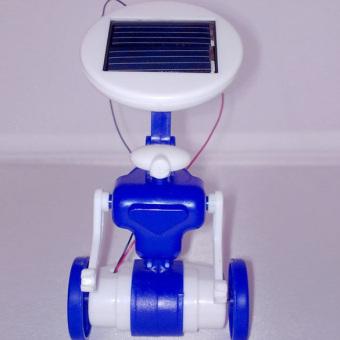 YBC 6 in 1 Solar Toy Educational Robots Plane Kit Creative Kid Gift- intl - 4