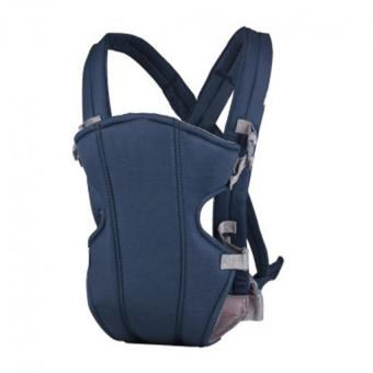 YBC Baby Carrier Sling Wrap Rider Infant Comfort Backpack Blue